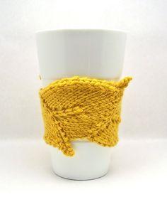 The Original Leaf Cup Cuddler by kljmayfield9 on Etsy, $10.00