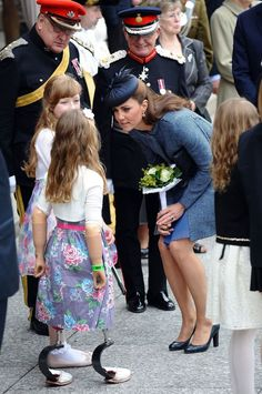 The Duchess of Cambridge in Nottingham
