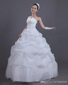 Wholesale Wedding Dress - Buy 2014 New Vintage Wedding Dresses Tube Top Wedding Dress Laciness Flower Vestido De Noiva Romantic $37.7 | DHgate