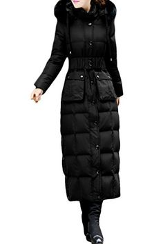 XIAOLV88 Womens Fashion Hooded Slim Warm Duck Winter Down Coat -- You can find out more details at the link of the image.
