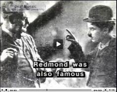 Charlie Chaplin and the Deaf Man Granville Redmond