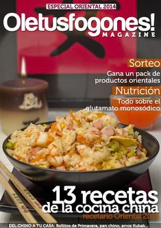 "Find magazines, catalogs and publications about ""recetario de cocina"", and discover more great content on issuu. China Food, Asian Recipes, Ethnic Recipes, Oriental Food, Asian Chicken, Cook At Home, Chinese Restaurant, International Recipes, Tapas"