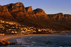size: Photographic Print: Camps Bay, Cape Town, South Africa Poster by Ariadne Van Zandbergen : Travel The Places Youll Go, Places To See, Camps Bay Cape Town, Cape Town South Africa, Pretoria, Most Beautiful Cities, Beautiful Beach, Africa Travel, Lonely Planet