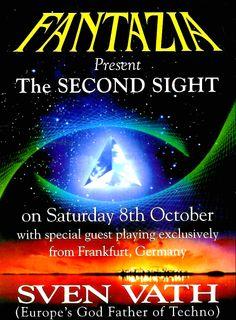 Saturday, 8 October 1994 : Fantazia – The Second Sight