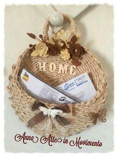 Portaposta di cannucce di carta#papel periodicos