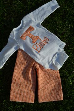 Boys University of Tennessee Seersucker Outfit! GO VOLS!  #ThePinkPearBoutique