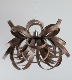 Wooden Pendant Light, Holloways
