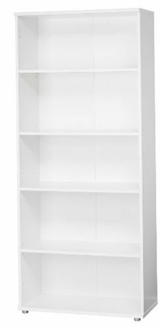Tvilum Cullen Tall Bookcase, White by TVILUM. $141.61. Ships in two boxes. Melamine surface. Contemporary. All metal hardware. Four shelves. Cullen tall bookcase, white. Part of the cullen home office collection by tvilum. Manufactured in denmark.