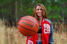 Girls High School Basketball, Basketball Senior Pictures, Senior Pictures Sports, Senior Picture Outfits, Senior Pictures Boys, Basketball Shooting, Sports Photos, Senior Pics, Senior Portrait Photography