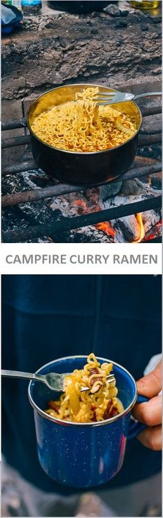 Campfire Curry Ramen recipe by the Woks of Life
