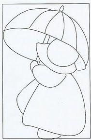 Riscos Bonecas, anjos, meninas- Patchwork embutido - Pintura em tecido | A Gaivota Artesanato