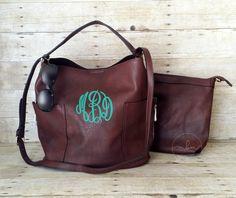 30190f6cb4b0 Monogram Purse - Monogrammed Coffee Purse - Monogram Hobo Bag - Personalized  Handbag - Monogrammed Crossbody- Bucket Bag-