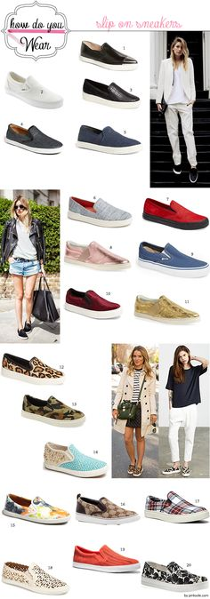 The best slip-on sneaker | How to wear slip-on sneakers