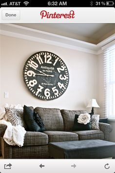 Living room clock