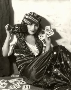 My Bohemian History  Hollywood's stereotypical fortune-telling gypsy, as played by Carmel Myers