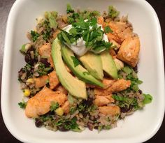 Clean Eats Mexi-Rice Bowl with Chipotle Lime Chicken