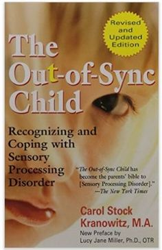 The Out of Sync Child - Recognizing & Coping with Sensory Processing Disorder. There are so many good books and resources out there for SPD but this is still my favorite go to resource for families who don't know much about sensory disorders.