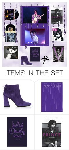 """Purple Rain"" by lavalu-1 ❤ liked on Polyvore featuring art, purple and prince"