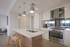 kitchen A rossdale homes display home design, a South Australian new home builder.