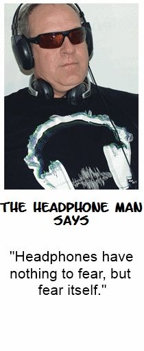 Your best headphones have nothing to fear, unless they sound terrible. That's where I come in. I am the Headphone Man. Visit me at MyBestHeadphones.com Best Headphones, Bluetooth Headphones, Accessories, Jewelry, Words, Fashion, Count, Showers, Check