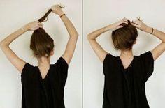 #Tutoriales de peinado inspirados en las Princesas #Disney ¿Cómo hacerse el #moño despeinado de Jane? #DIY #hairstyle #peinados