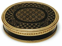 Charles Ouisille snuff box 1782