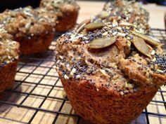 Gluten-Free Seeded Banana Date Muffins