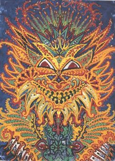 The psychedelic madness of Louis Wain's cats | Dangerous Minds