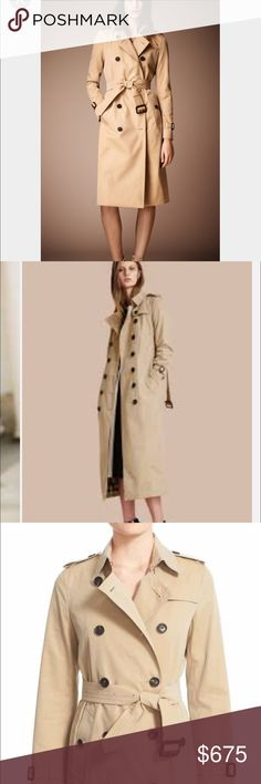 Burberry trenchcoat EUC size XL Burberry trenchcoat EUC size XL has a few scuffs could use a dry clean. No rips or tears! So pretty. Very nice Burberry Jackets & Coats Trench Coats