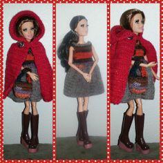 paperdollmom: little red riding hood inspired barbie