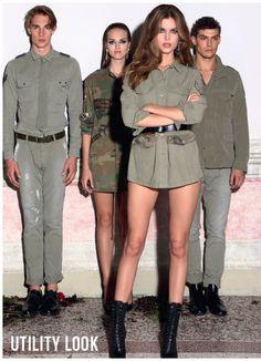Utility-Look - Mode Bekleidung Herren - Onlineshop - mai2016 Shops, Designer, Military Jacket, Jackets, Fashion, Men's Apparel, Down Jackets, Moda, Tents
