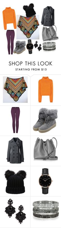 """ideal composition"" by dorota-kujawa ❤ liked on Polyvore featuring Acne Studios, 2LUV, WithChic, Lands' End, Lancaster, Topshop, Tasha and Bernard Delettrez"
