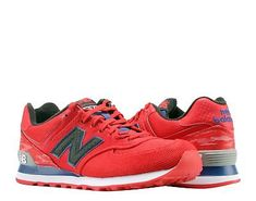 New Balance 574 Summer Wave Red