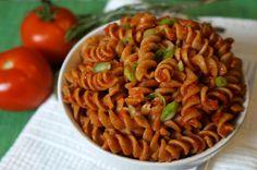 Whole Wheat Rotini with Broccolini and Sun-Dried Tomatoes