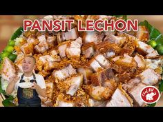PANSIT LECHON - YouTube Halo Halo, Lechon, Pinoy Food, How To Double A Recipe, Onion, The Creator, Cooking, Youtube, Recipes