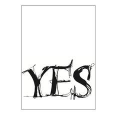 Yes or No postikortit suunnitelijaltaYlva Skarp. Neljä upeaa…