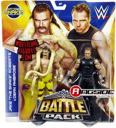Jake Roberts & Dean Ambrose - WWE Battle Packs 30 | Ringside Collectibles