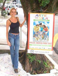 ARTE DA VILA!!! SUCESSO!!!!!!!!!!!!!!! by ALÉM DA RUA ATELIER/Veronica Kraemer, via Flickr