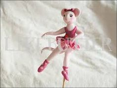 Shop for on Etsy, the place to express your creativity through the buying and selling of handmade and vintage goods. Ballerina Cakes, Ballerina Party, 3rd Birthday, Birthday Parties, Princess Party, Disney Princess, Angelina Ballerina, Train Party, Fondant Toppers