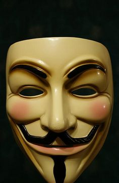 Anonymous/Guy Fawkes mask.  Why does Anonymous attach itself to the Gunpowder plot to kill King James?
