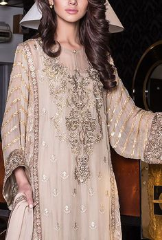 Buy Grey Embroidered Chiffon Salwar Kameez by Baroque 2015 Call: (702) 751-3523 Email: Info@PakRobe.com www.pakrobe.com https://www.pakrobe.com/Women/Clothing/Buy-Designer-Chiffon-Dresses #DESIGNER #CHIFFON #DRESSES