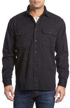 Filson 'Chino' Regular Fit Twill Sport Shirt