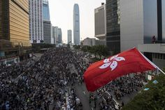Hong Kong, population 7.9 million, is a semi-autonomous region of China.