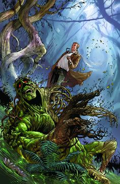 Swamp Thing #22 Virgin Cover #SwampThing #New52 #DC (Cover Artist: Guillem March) On Sale: 7/3/2013