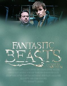 fantastic beasts and where to find them + alternative film posters gif