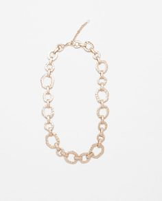 Image 1 of CHAIN NECKLACE from Zara