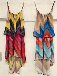 Tween Girls Chevron Dress Preorder7-14 ...