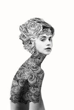Original Art: Jenny Liz Rome's Romantic Illustrations on the AphroChic blog