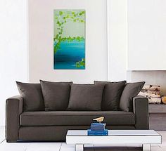 MERMAiD original abstract modern painting von linneaheideart