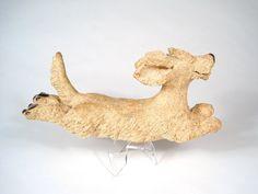dachshund flying by EllensCreatures on Etsy, $60.00